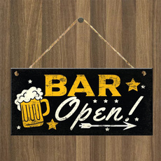 decoration, plaquesampsign, Bar, hangingplaque