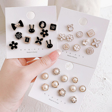 womenbrooche, brooches, Pins, pearls