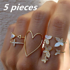 butterfly, bohoring, vintage ring, Butterflies