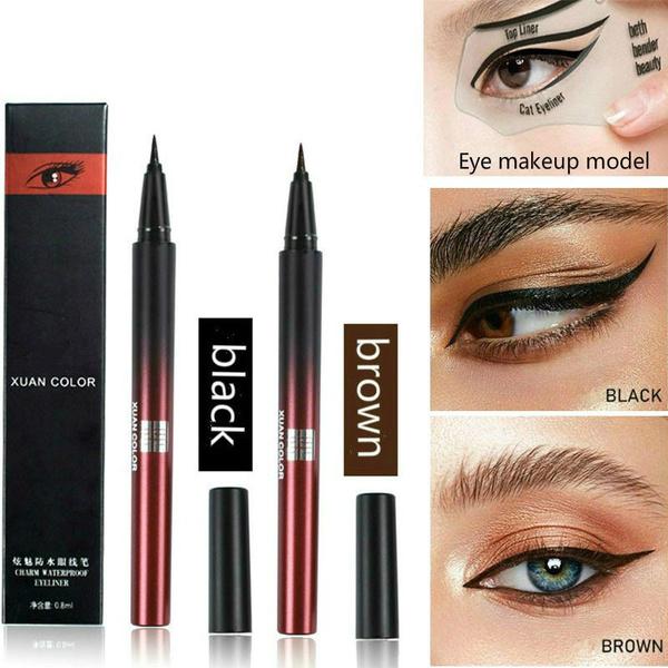 blackeyeliner, eye, Beauty, Eye Makeup