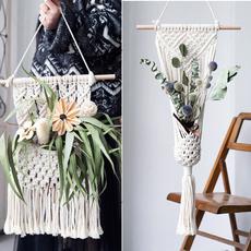 bohemia, Plants, macrame, art