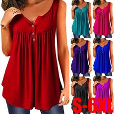 Summer, fashion women, blouse women, Pleated