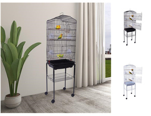 Mascotas, Metal, birdcagewithbase, Kitchen Accessories