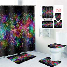 Beautiful, rainbow, Bathroom, Bathroom Accessories
