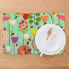 tablemat, washableplacematssetof6, washabletablemat, Decor
