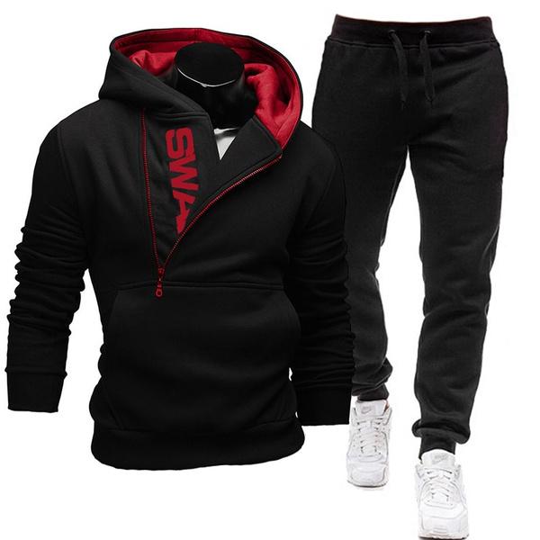 Set, zippers, Men, Men's Fashion