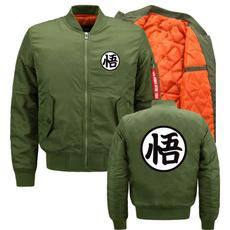 Fashion, Dragon Ball Z, Coat, Men