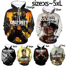 callofdutyblackop, 3D hoodies, Fashion, Long Sleeve