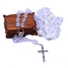 Women, Chain Necklace, prayingnecklace, roundbeadchainnecklace
