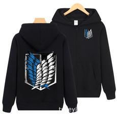 hooded, Sweaters, Men, Cross