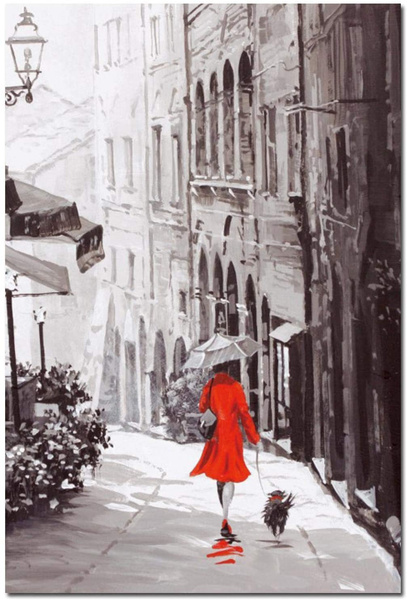 Pictures, streetlandscape, art, Posters