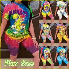 2pieceset, topsandshortsset, Shorts, tiedye2piece