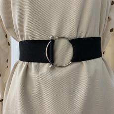 wide belt, Leather belt, leather strap, Simple