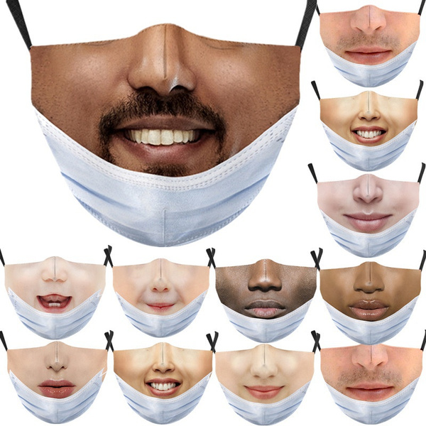 Funny, Cotton, mouthmask, unisex
