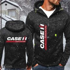 case, Casual Jackets, Fleece, hooded