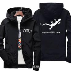 hooded, Coat, Men, Clothing