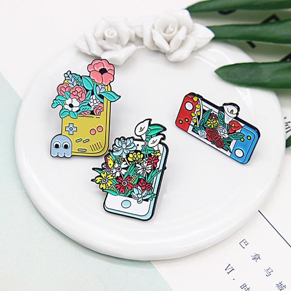 ghost, Plants, Flowers, Pins