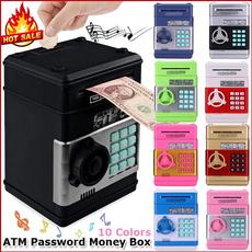Box, electronicpiggybank, moneybox, coinbox