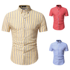 Summer, slim, stripeshirt, Dress