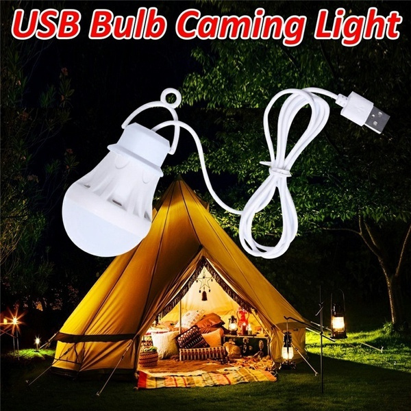 Light Bulb, Outdoor, led, camping