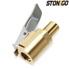 Brass, 8MM, inflatablequickconnector, brassclipon