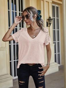 Plus Size, plussizetshirt, solidcolortshirt, fashionshortsleeve