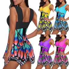 butterfly, bathing suit, Plus Size, bikini set