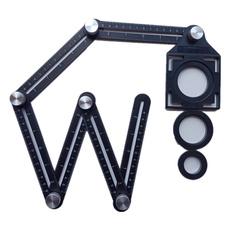 templatetool, tileholelocator, angleruler, Aluminum