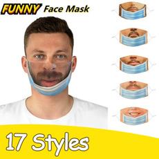 cottonfacemask, Funny, prankmask, マスク