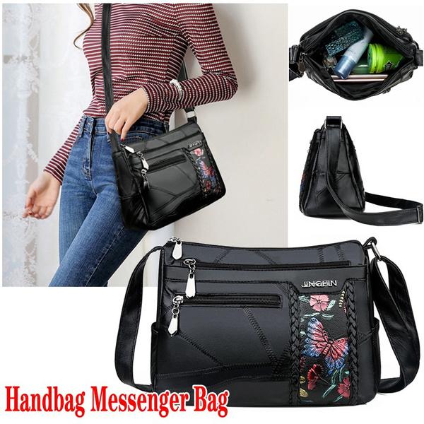 Shoulder Bags, Waterproof, leather, Travel
