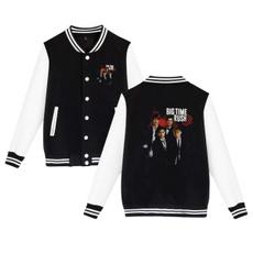 Casual Jackets, Sport, bigtimerushbaseballuniformjacketsportcoat, baseball jacket