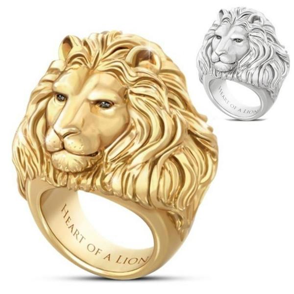 goldplated, Heart, theheartofthelion, Jewelry
