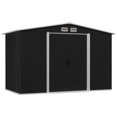 Steel, shed, Outdoor, Garden