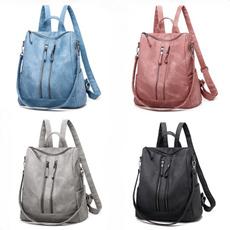 Shoulder Bags, School, Fashion, PU