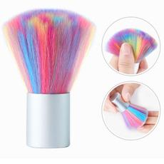 manicure tool, rainbow, nail brush, manicure