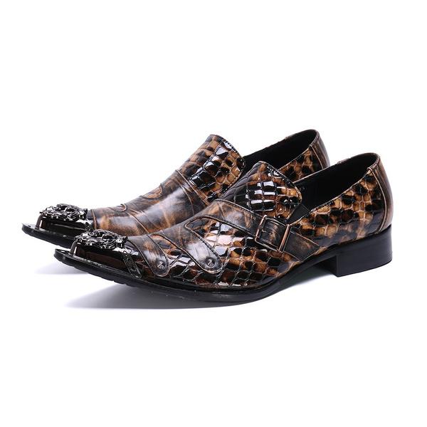 shoes men, Summer, party, leather shoes