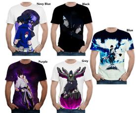 sharingan, Mens T Shirt, Polyester, Fashion