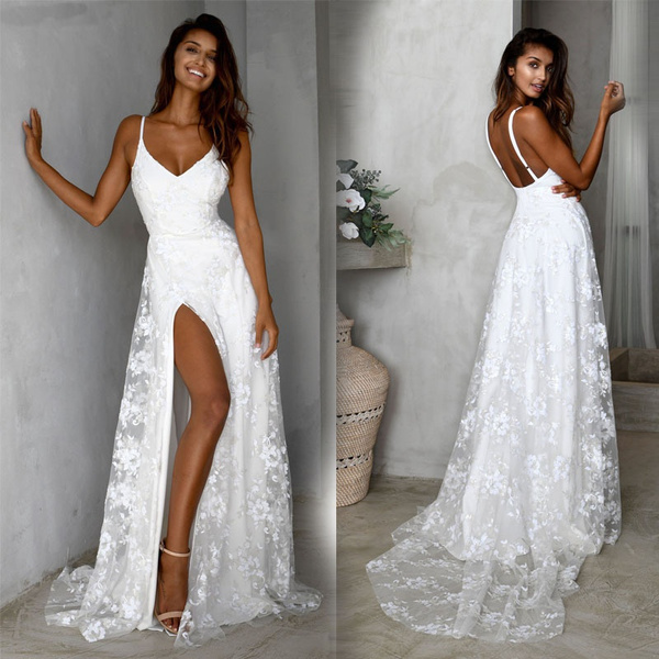 Summer, Fashion, halter dress, Lace