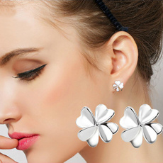 Sterling, Clover, silver925, Fashion