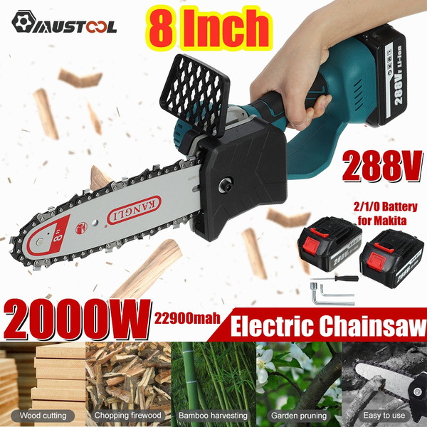 Wood, woodcuttercordle, powerchainsaw, Electric