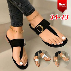 Summer, Sandals, Womens Shoes, Buckles