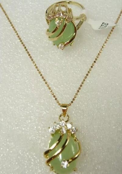 Green, Pendant, setjade, jade