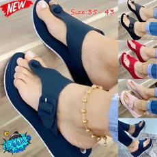 wedge, Flip Flops, Fashion, summersandal