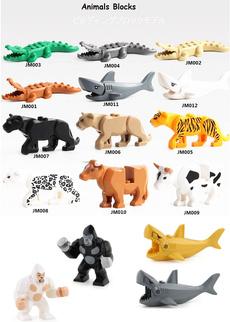 Toy, cow, figure, Leopard