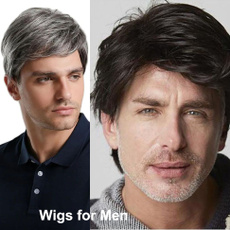 wig, menswig, Shorts, Cosplay