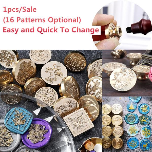 waxsealstamp, Copper, woodstampkit, copperstamp