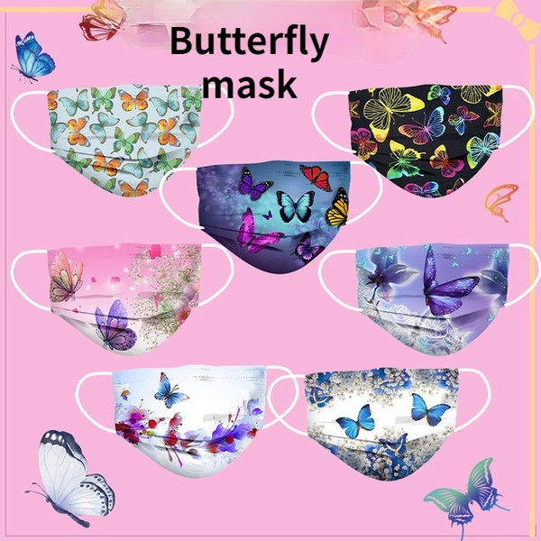 butterfly, threelayer, Thickened, Masks