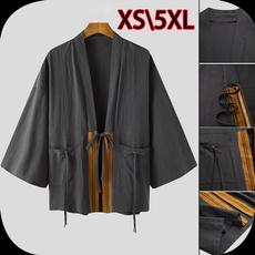 yukata, cardigan, menskimono, Vintage