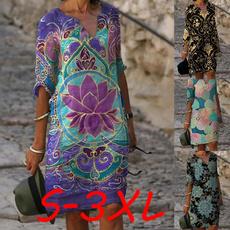 Fiber, long dress, Dress, beach dress
