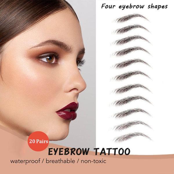 tattoo, Beauty, artificialeyebrowpatch, eyebrowsticker